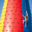 Child climbing — Stock Photo #3523816