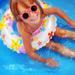 Child in swimming pool — Stock Photo #3631224