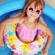Child in swimming pool - Foto de Stock  