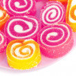 Colorful fruit-paste sweets — Stock Photo #3721535
