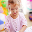 Stockfoto: Child painting