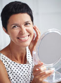 Beautiful middle aged woman — Stock Photo