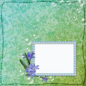 照片或祝贺的框架 — 图库照片