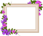 Romantic frame — Stock Photo