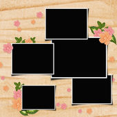 Scrapbook page — Stock Photo