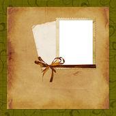 Framework for photo or invitation — Zdjęcie stockowe