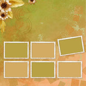 Autumn background for invitation and photo — Stock fotografie