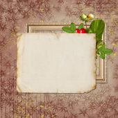 Vintage background for invitation — Stockfoto
