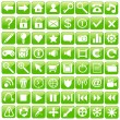 Royalty-Free Stock Imagen vectorial: Web Icon Set.