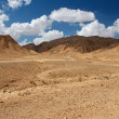 Scenic desert landscape - Stock Photo