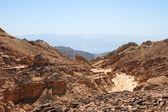 Rotsachtige woestijn landschap — Stockfoto