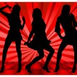 Dancing girls — Stock Vector #2767147