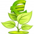 Royalty-Free Stock Vector Image: Euro plant