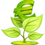 Euro plant — Stock Vector