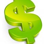 Dollar symbol — Stock Vector