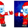 Royalty-Free Stock Vektorgrafik: Santa smile