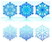 Snowflakes — Vetorial Stock