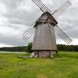 Old windmill on a meadow — Stock Photo
