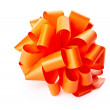 Stock Photo: Orange bow