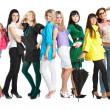 Group of young girls — Stock Photo #4022111