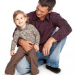 Father and daughter — Stock Photo #4022463