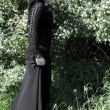 Gothic girl - Stock fotografie