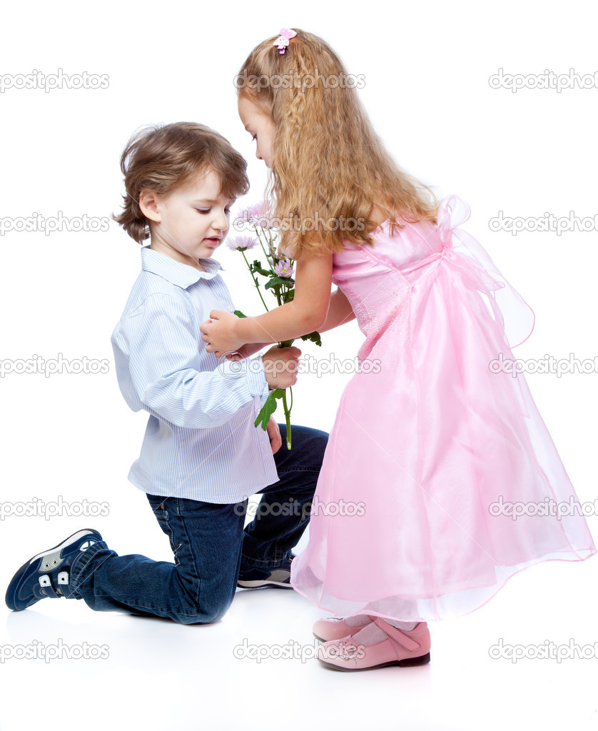 Little Boy And Girl In Love Stock Photo 169 Natulrich 4401647