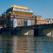 Old national theater in Prague — Stock Photo