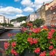 Water canal in Karlovy Vary — Stock Photo #2796200