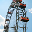 The oldiest Ferris Wheel in Vienna — Stock Photo #2839721