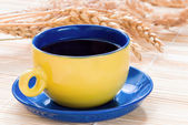 Cup of tea or coffee — Stock Photo