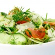 Stock Photo: Fresh vegetable salad