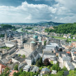 Panoramic view of Salzburg, Austria - Stock Photo