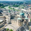 Stock Photo: View over Salzburg, Austria