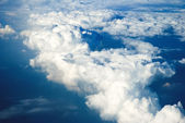 Blue sky covered by clouds — Stock Photo