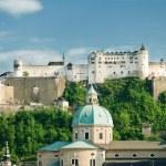 Hohensalzburg Fortress in Salzburg. Austria — Stock Photo #3274432