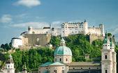 Hohensalzburg Fortress in Salzburg. Austria — Foto de Stock