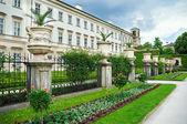 Mirabelle palace and gardens in Salzburg. Austria — Stock Photo
