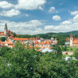 Stock Photo: PanoramCesky Krumlov