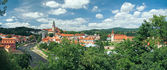 Panorama Cesky Krumlov — Stock Photo