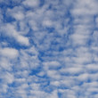 Windy cloudy sky — Stockfoto
