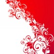 Royalty-Free Stock Vector Image: Abstract background with floral ornament