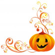 Vector halloween pumpkin — Stock Vector #3864945