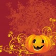 Vector halloween background — Stock Vector #3864973