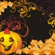 Vector halloween background — Stock Vector #3864986
