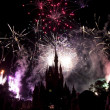 Disney fireworks - Stock Photo