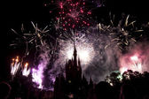 Disney fireworks — Stock Photo