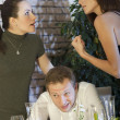 Conflict between two women — Stock Photo #2857649