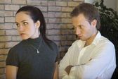 Conflict between couple — Stock Photo