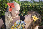 Two sisters outdoor — Stock Photo